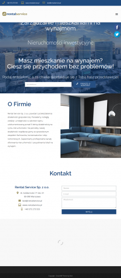 Screenshot 2019 11 04 Biuro Zarządzania Nieruchomościami Warszawa Rental Service