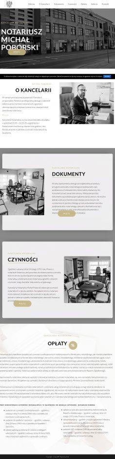 Screenshot 2019 11 04 Kancelaria Notarialna Michał Poborski – Kolejna Witryna Oparta Na WordPressie(1)