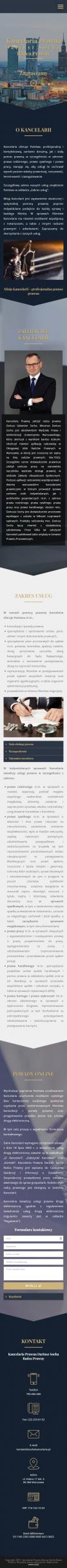 Screenshot 2019 11 04 Kancelaria Prawna Dariusz Socha Adwokat Warszawa