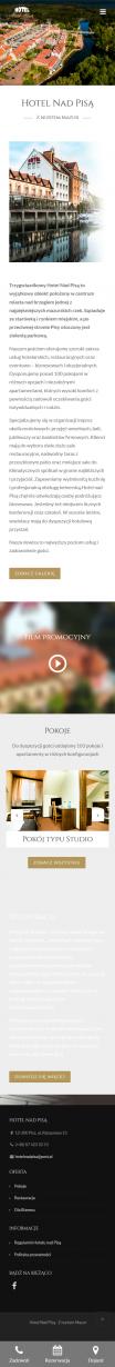 Screenshot 2019 11 04 Strona Główna Hotel Nad Pisą